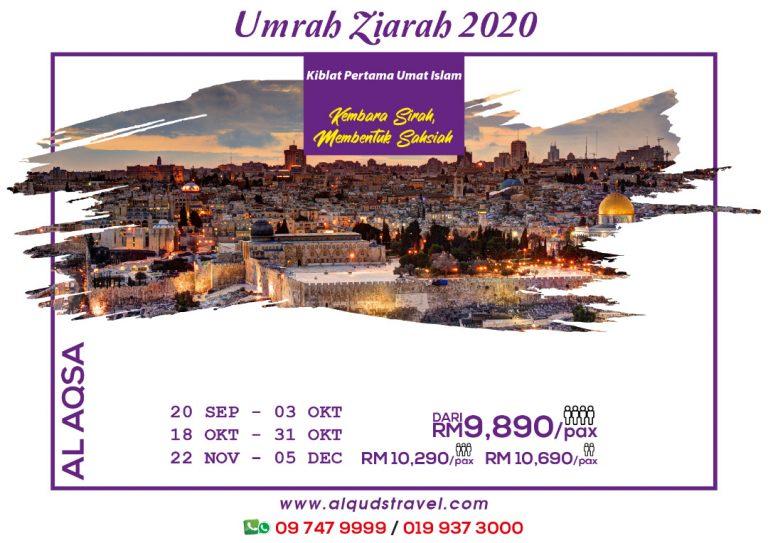 Umrah Ziarah Aqsa 2020