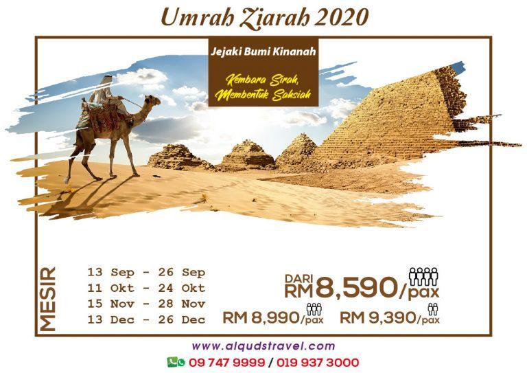 Umrah Ziatah Mesir 2020