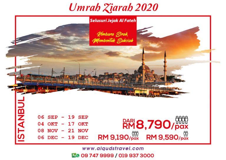 Umrah Ziarah Istanbul 2020