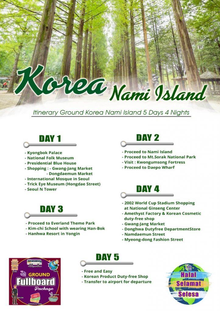 KOREA NAMI ISLAND
