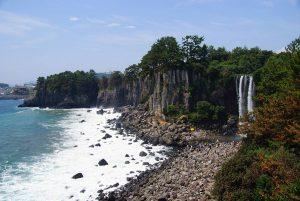 jeongbong waterfall