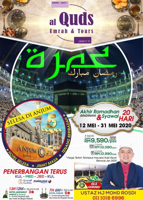 umrah pakej ramadhan 2